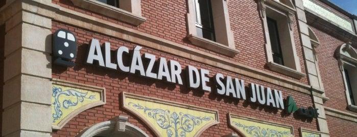Estación de Alcázar de San Juan is one of Ciudad-Real – Alicante.