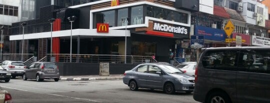 McDonald's is one of Lieux qui ont plu à Rahmat.