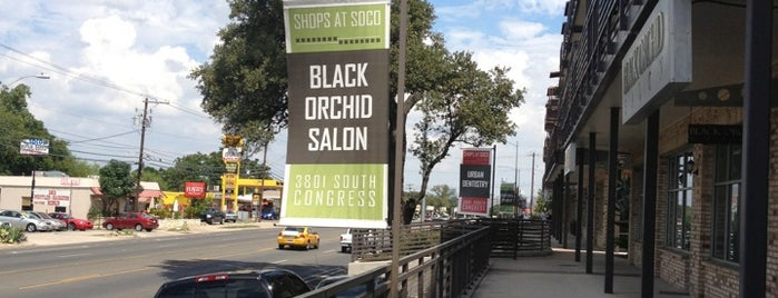 Black Orchid Salon is one of ATX favs.