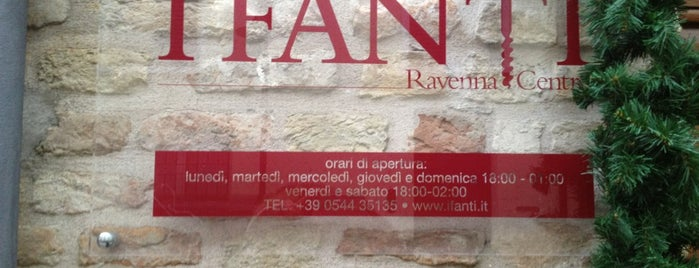 I Fanti is one of #4sqCities #Ravenna - 25 Tips for travellers!.