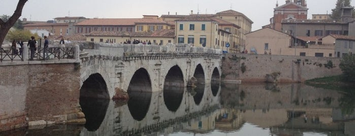 Ponte di Tiberio is one of Rimini.