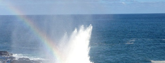 Spouting Horn State Park is one of Kauai on a Budget.