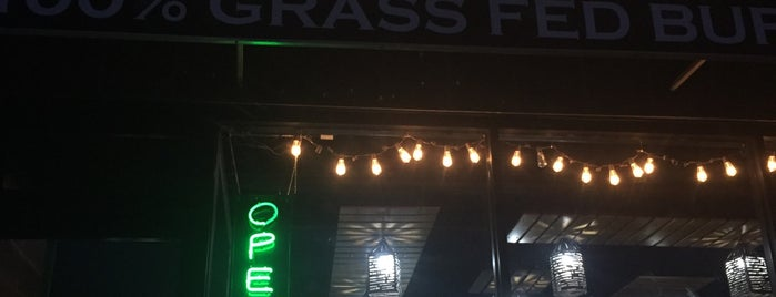 Stuffed Grassfed Burgers is one of Montclair and around.