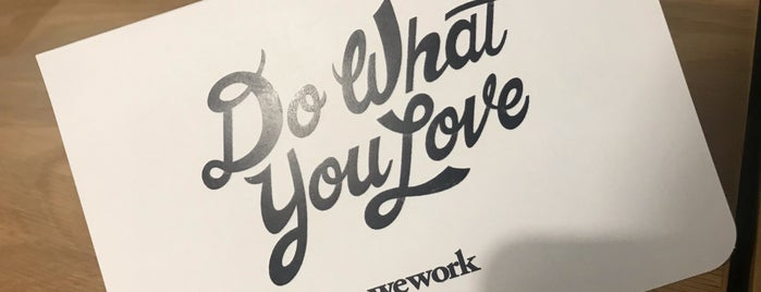 WeWork Marunouchi Kitaguchi is one of Places for remote work.