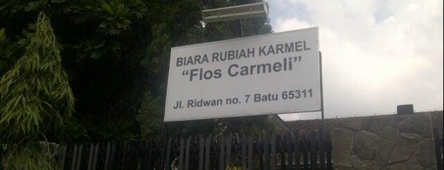 """Biara Rubiah Karmel """"Flos Carmeli"""" is one of Gereja Katolik & Biara di Indonesia."""