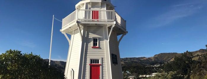 Akaroa Head Lighthouse is one of Nuova Zelanda.