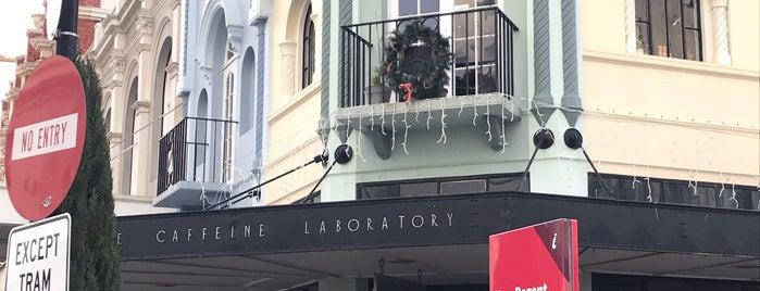 The Caffeine Laboratory is one of Orte, die Ricardo gefallen.