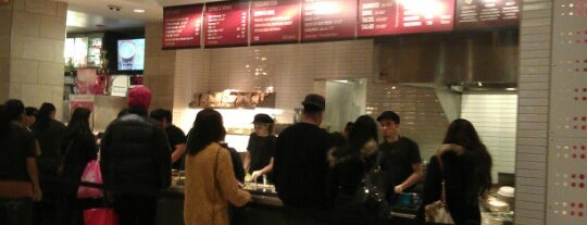 Chipotle Mexican Grill is one of Phacharin 님이 좋아한 장소.