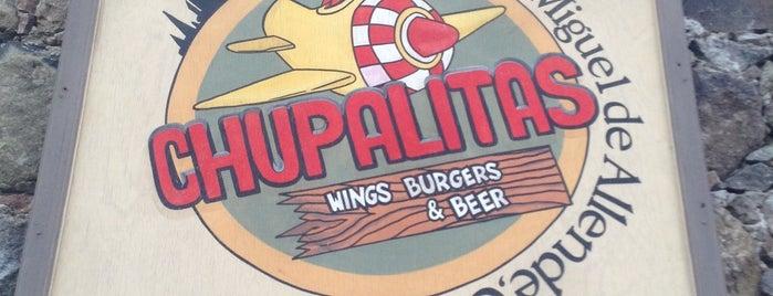 ChupAlitas is one of สถานที่ที่ Nancy ถูกใจ.