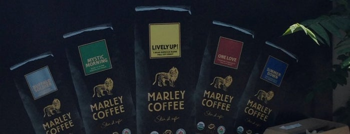 Marley Coffee is one of Sebastián 님이 좋아한 장소.