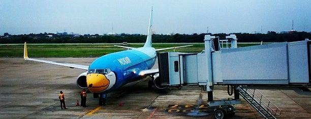 ウドーンターニー国際空港 (UTH) is one of Part 1~International Airports....