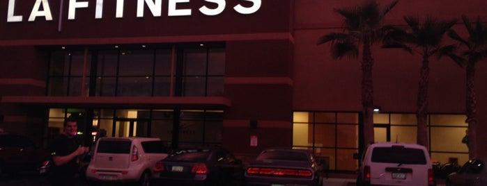 LA Fitness is one of สถานที่ที่บันทึกไว้ของ Tanner.
