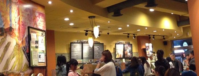 Starbucks is one of Orte, die キヨ gefallen.