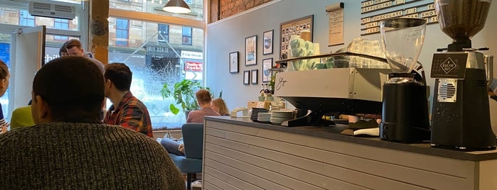 Black Pine Coffee Co is one of Glasgow Places To Visit.
