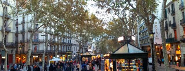 La Rambla is one of Barcelona City Guide.