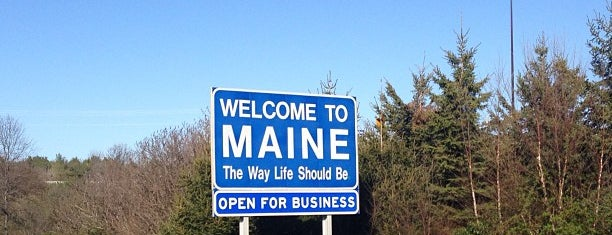 New Hampshire / Maine State Line is one of USA1.