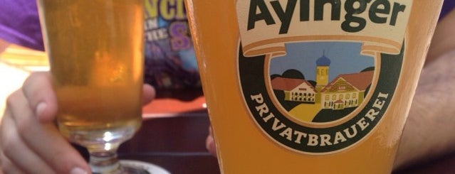 Brauerei Aying is one of Beer / Ratebeer's Top 100 Brewers [2019].
