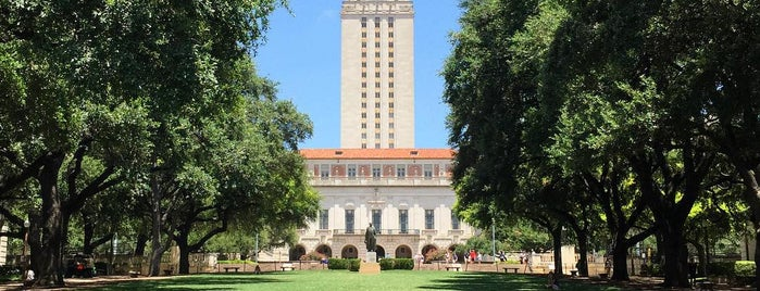The University of Texas at Austin is one of Austin.
