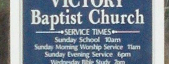 Victory Baptist Church is one of สถานที่ที่บันทึกไว้ของ Nicholas.