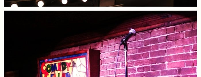 Comedy Cellar is one of Been there.