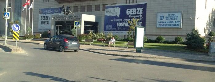 Gebze Belediyesi is one of Oral'ın Beğendiği Mekanlar.