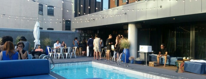 SIXTY LES Rooftop Pool is one of New York City.