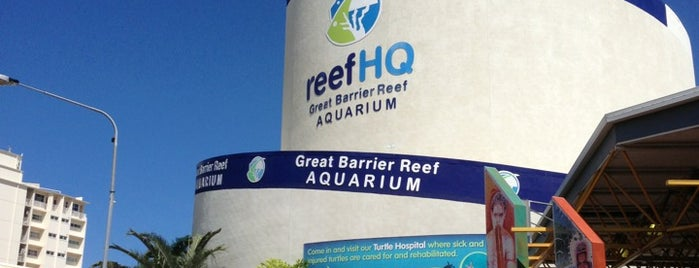 Reef HQ Aquarium is one of Aussie Trip.