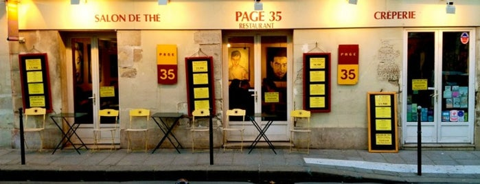 Page 35 is one of Paris.
