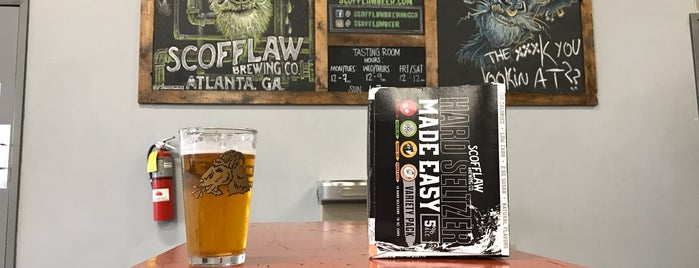 Scofflaw Brewing Co. is one of Do: Atlanta ☑️.