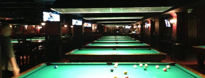 Society Billiards + Bar is one of NYC.