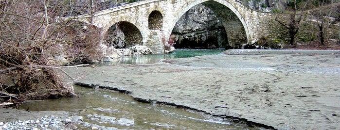 Γεφύρι Πορτίτσας is one of Posti salvati di Thanos.