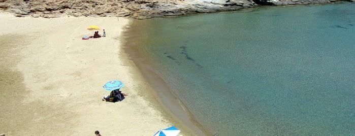 Μικρό Ατένι is one of Beaches.