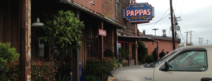 Pappas Bar-B-Q is one of Lugares favoritos de Marcus.