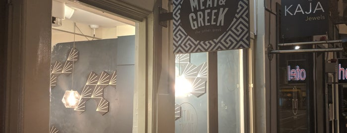 Meat and Greek is one of Amsterdam.