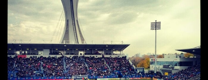Stade Saputo is one of Canada-Mntrl.