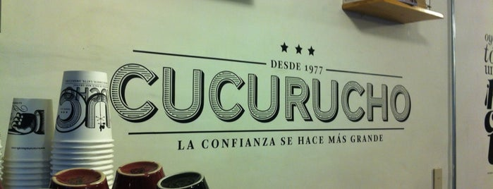 Cucurucho is one of Coffee, Cafeína Necesaria.