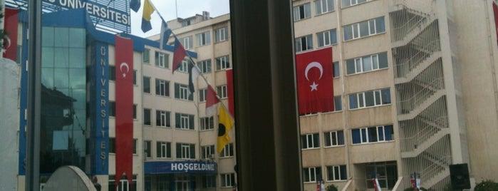 Piri Reis Üniversitesi is one of İstanbul'daki Üniversite ve MYO'ların Kampüsleri.