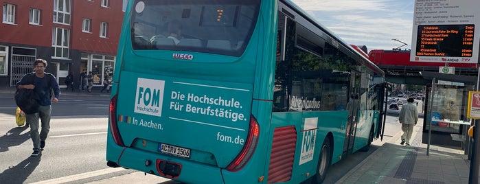 H Bhf Rothe Erde is one of Aachen ÖPNV.
