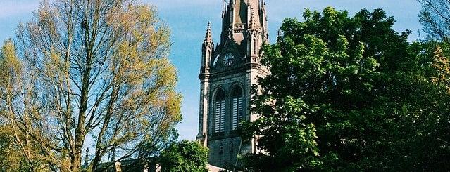Kirk of St Nicholas is one of Aberdeen.