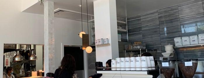 Cafe Réveille is one of LA + SF.
