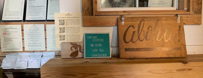 ChadLou's Coffee House is one of Oahu.