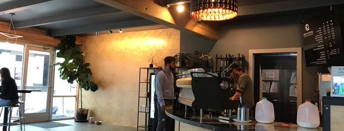 QED Coffee is one of Seattle coffee.