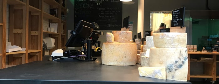 George Mewes Cheese is one of Edinburgh.