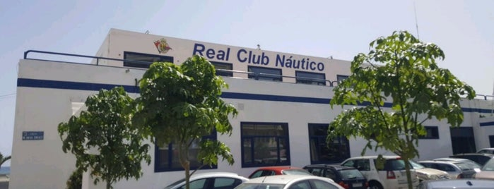 Real Club Nautico De Arrecife is one of Lanzarote, Spain.