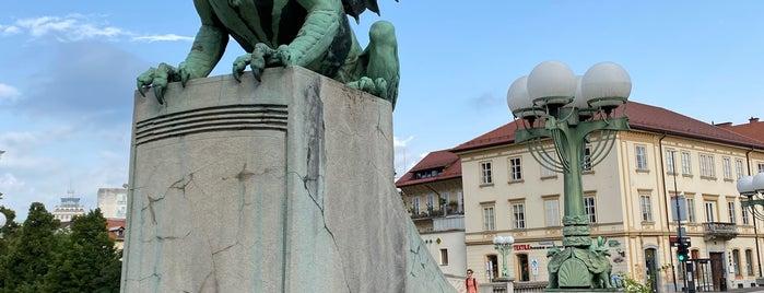 Ljubljana is one of Random places.