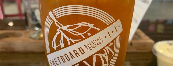 Fretboard Brewing Company is one of Kenan 님이 좋아한 장소.