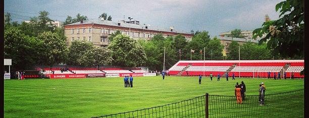 Стадион «Спартаковец» имени  Н.П. Старостина is one of Gespeicherte Orte von Яна.