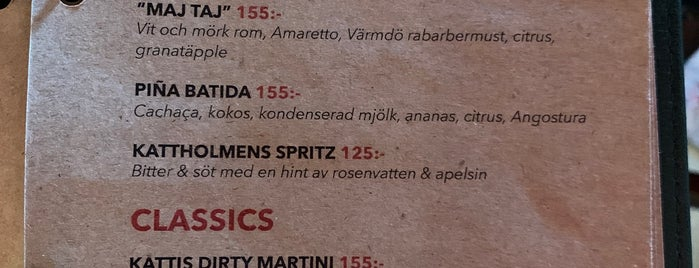Kattholmen is one of Nacka & Värmdö.
