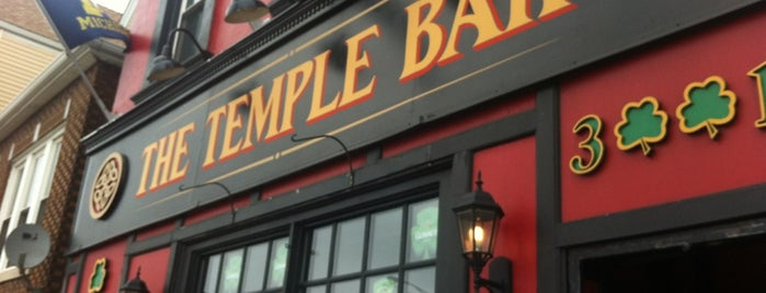 The Temple Bar is one of Be a Local in Lakeview.