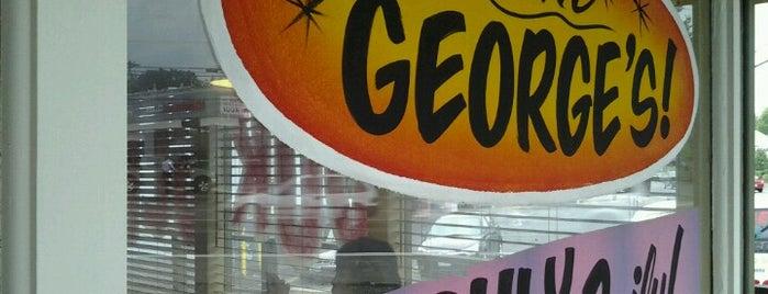 George's Giant Hamburgers is one of Apnea'nın Beğendiği Mekanlar.